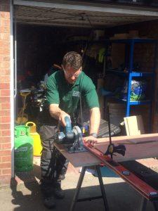 Circular saw property maintenance